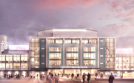 VINCI Construction UK Appointed to Refurbish Fairfield Halls in Croydon
