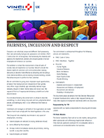 FAIRNESS, INCLUSION & RESPECT POLICY
