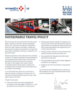 SUSTAINABLE TRAVEL POLICY