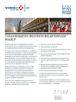 COLLABORATIVE BUSINESS RELATIONSHIP POLICY