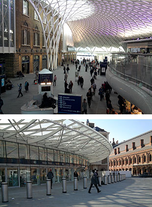 KING'S CROSS WESTERN RANGE BUILDING AND CONCOURSE