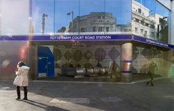Tottentham Court Road Ticket Hall