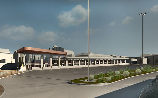 Works Starts on New Wigan Bus Station