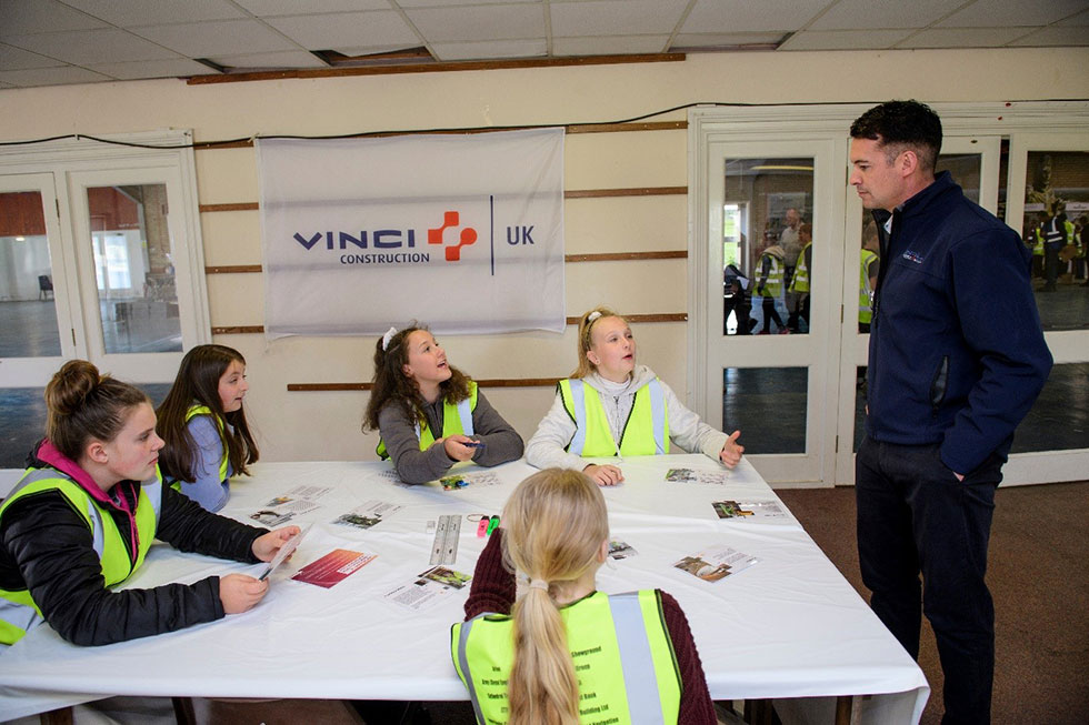 Lincolnshire Schoolchildren Enjoy Construction Careers Insights