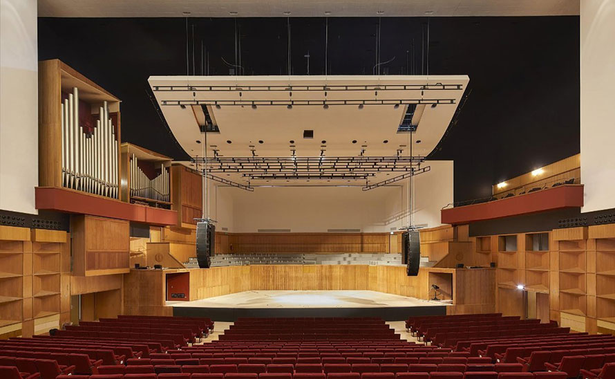 VINCI Construction UK delivers their promise on Fairfield Halls revamp