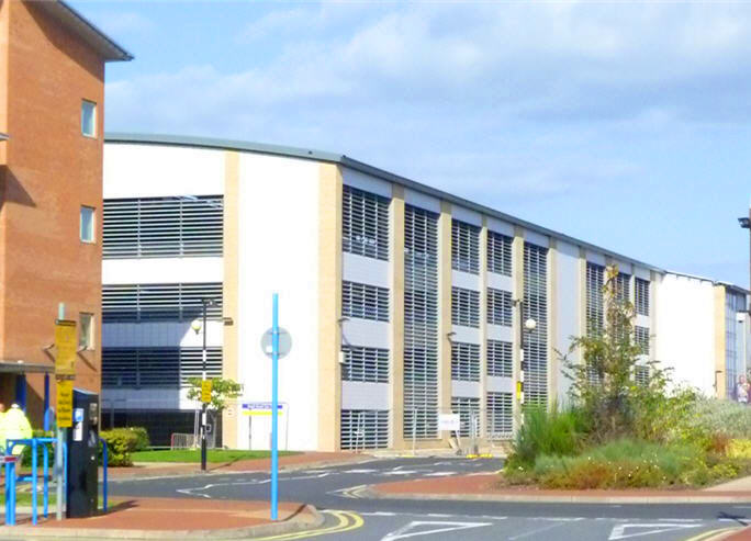 Sunderland Royal Hospital has received a new MSCP