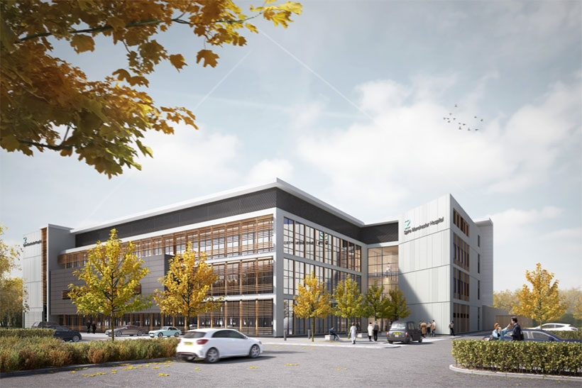VINCI Construction UK Awarded £35 Million Flagship Hospital Contract