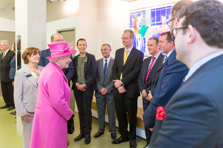 Queen leads Rambert opening ceremony