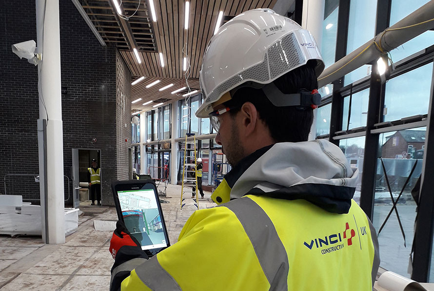 VINCI Construction UK are leading the pilot of a digital collaboration tool