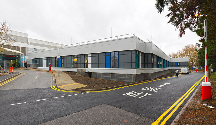 QEH Clinical Decant Facility Opens One Month Early