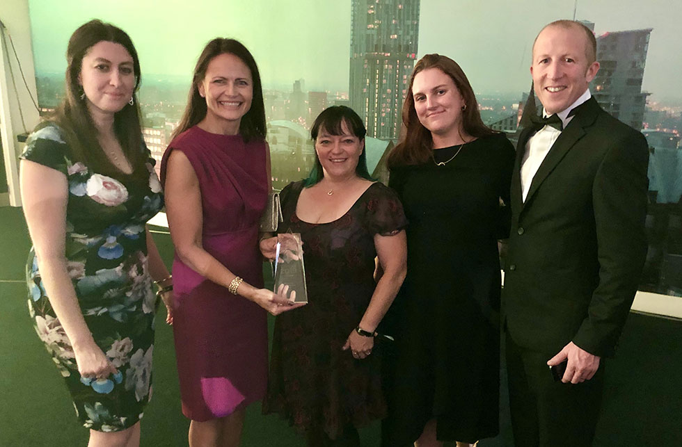 Chase Farm Hospital picks up the Estates and Facilities Team of the Year Award