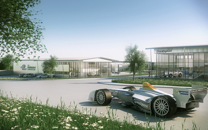Formula E headquarters to be built at Donington Park