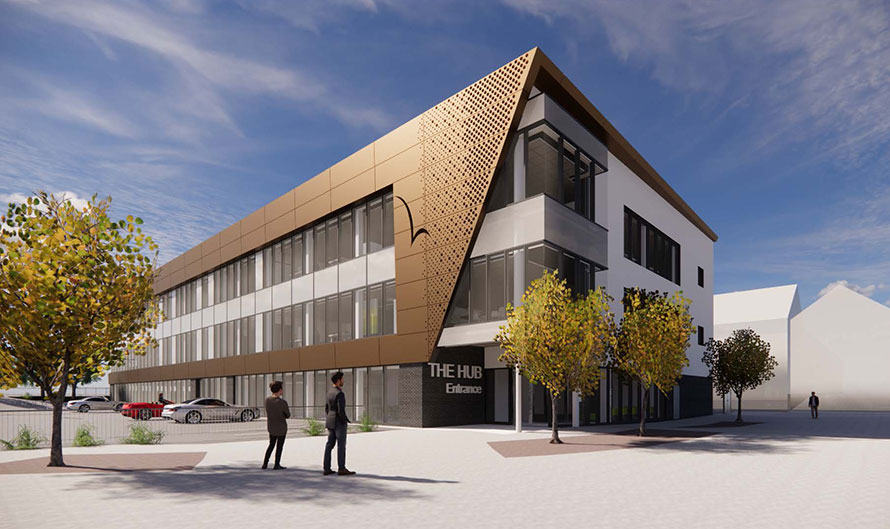 VINCI Construction UK has commenced work on delivering a new Public Services Hub in Ellesmere Port for Cheshire West and Chester Council