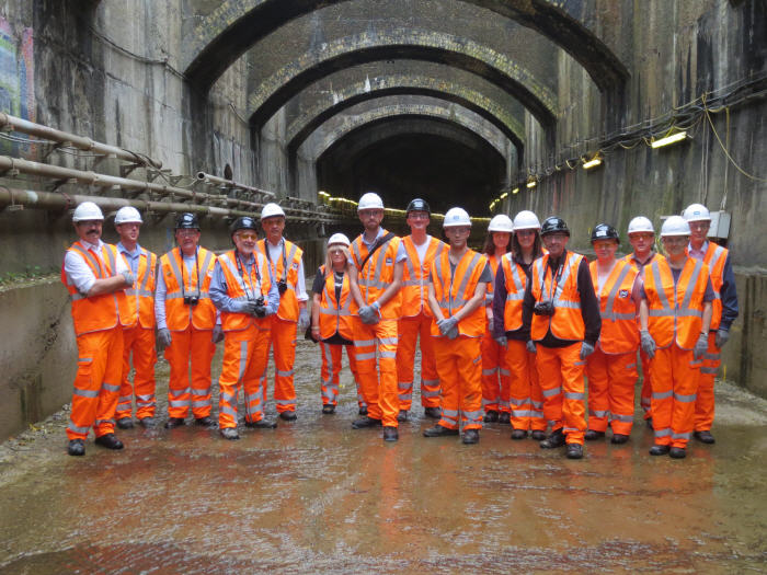 Connaught Tunnel opens up