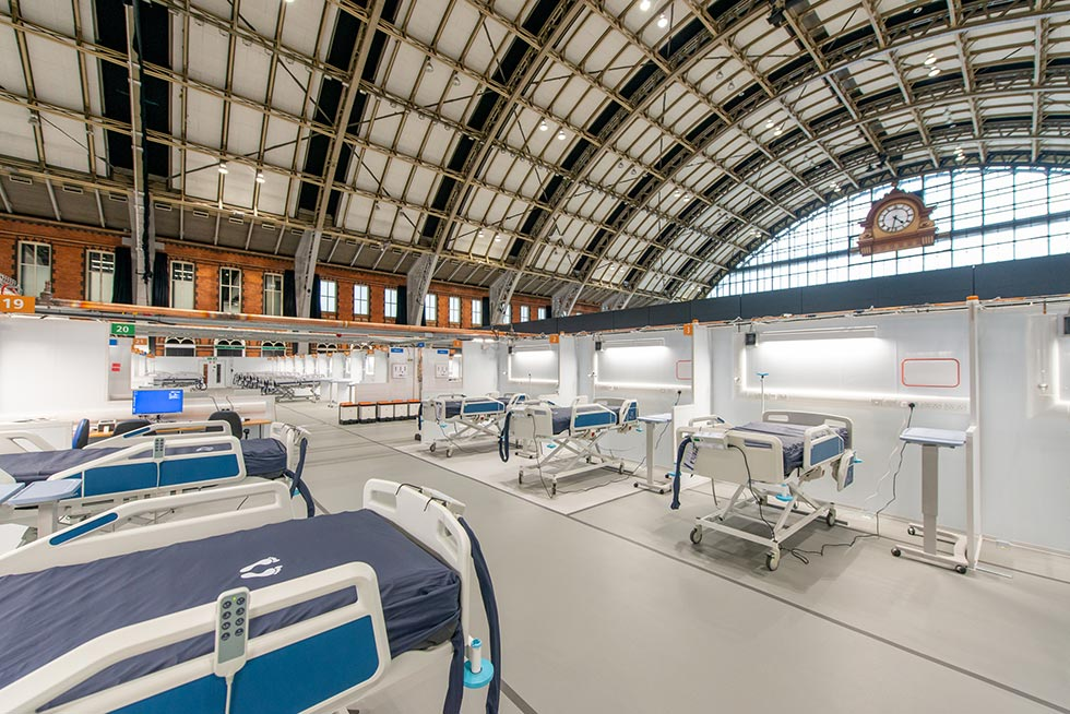 "NHS Nightingale North West Hospital shortlisted for ""Building of the Year"" Greater Manchester Chamber of Commerce Award"