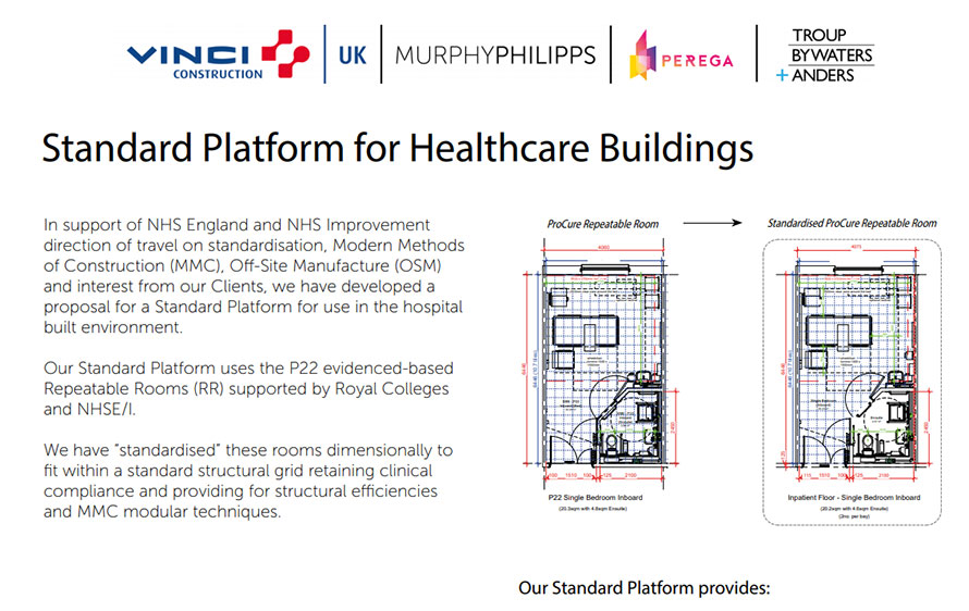 Standard Platform for Healthcare Buildings