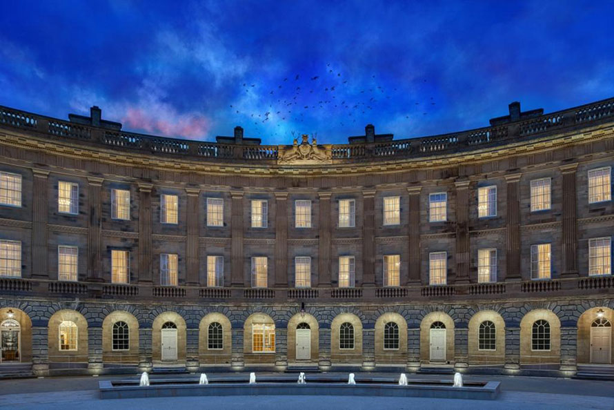 VINCI Construction UK Delivers Spectacular Buxton Crescent Luxury Spa Hotel