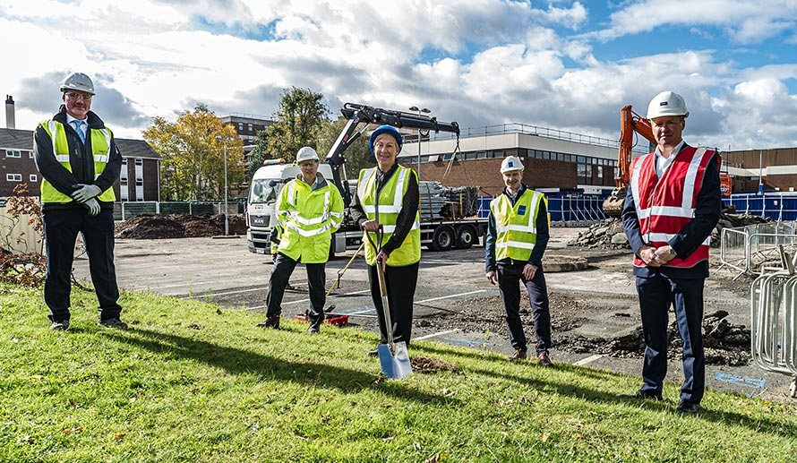 Turf Cutting Ceremony takes place for Sandwell and City Hospitals