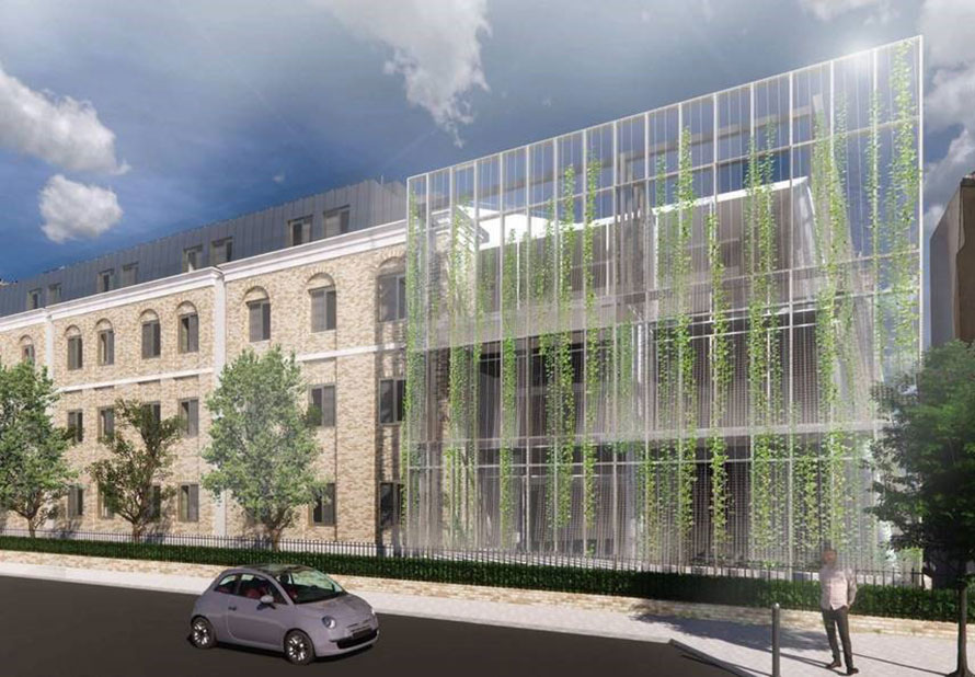 Integrated Health Projects starts work on Douglas Bennett House