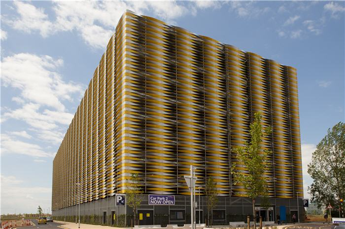 Project team receive top marks for multi-storey car park at Addenbrooke's Hospital