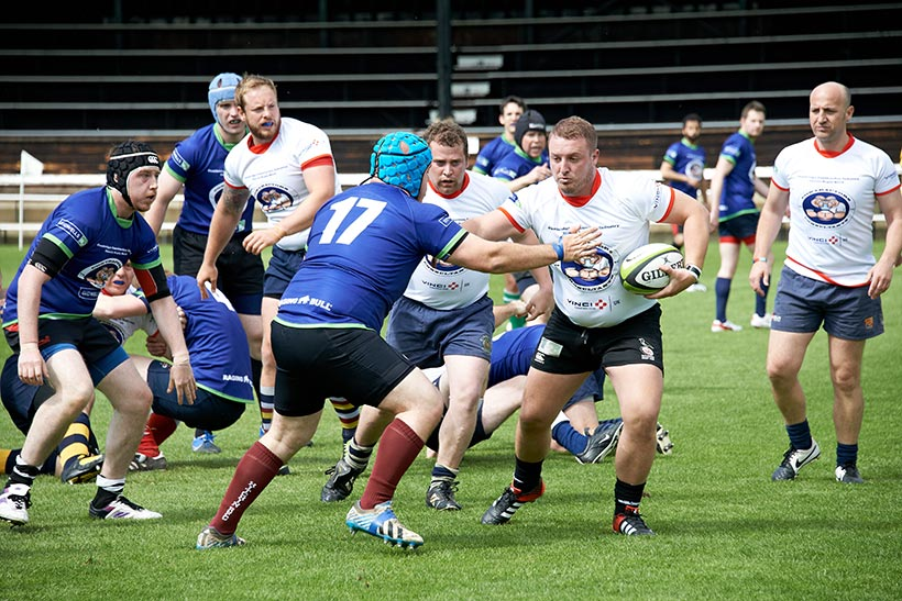 Contractor's vs Consultants Charity Rugby Match