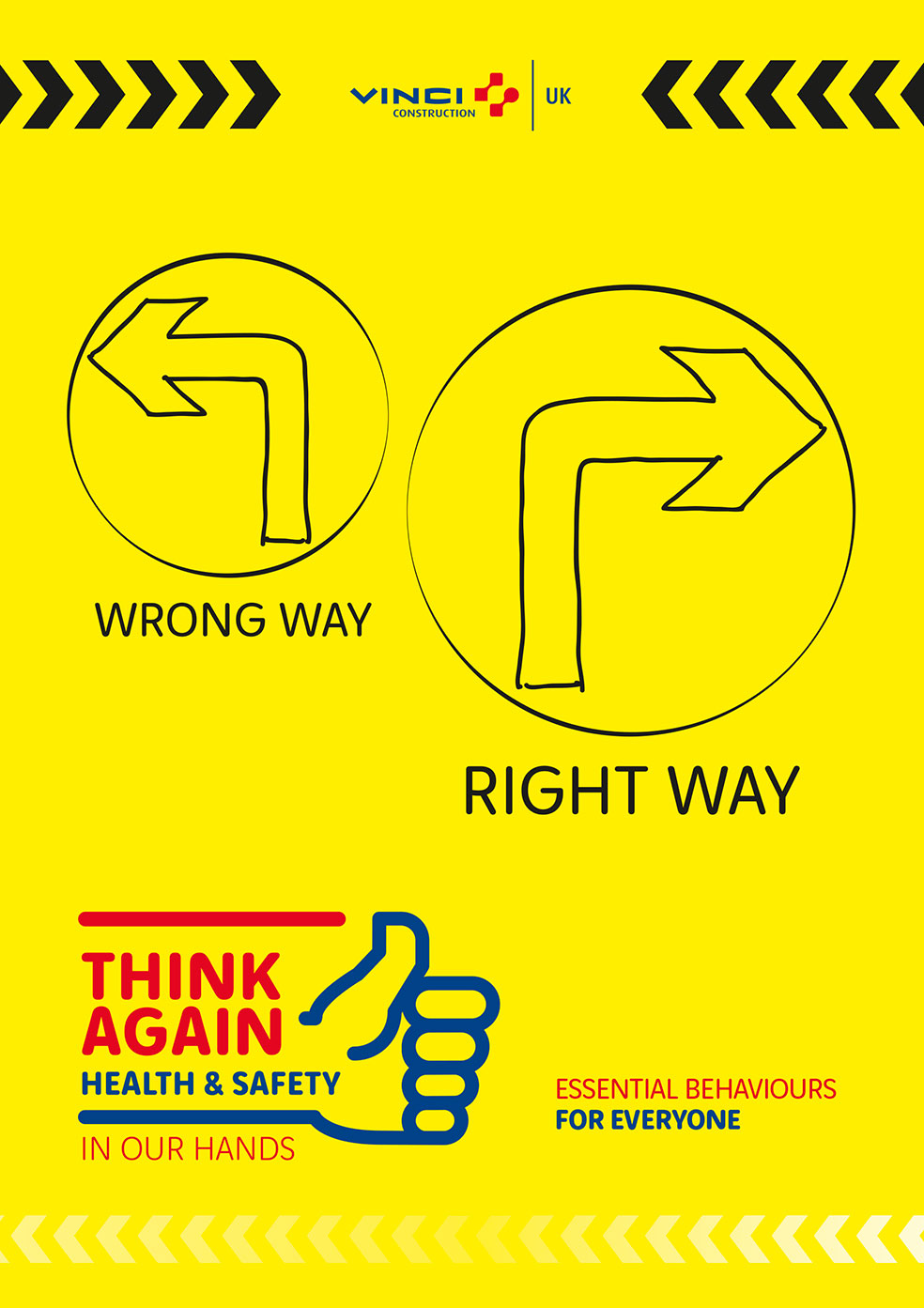 VINCI Construction UK launches new Health & Safety strategy – THINK AGAIN