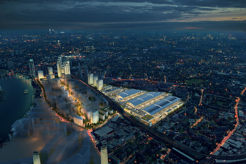 VINCI St. Modwen and CGMA complete development agreement for the regeneration of New Covent Garden Market, Nine Elms, London