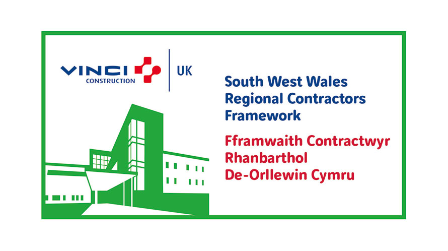 VINCI Construction UK successful on South West Wales Regional Contractors Framework