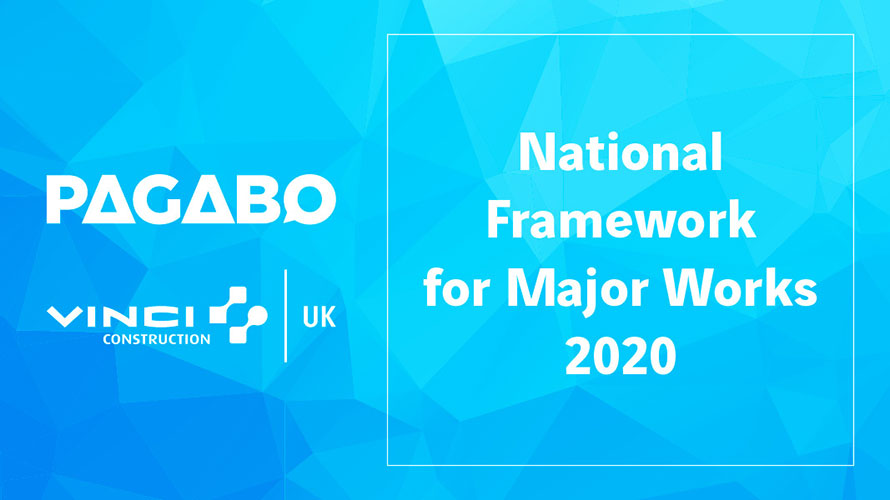 Pagabo Announces VINCI Construction UK on National Framework for Major Works