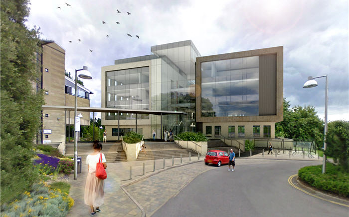 The University of Bath is to receive £20m new academic building