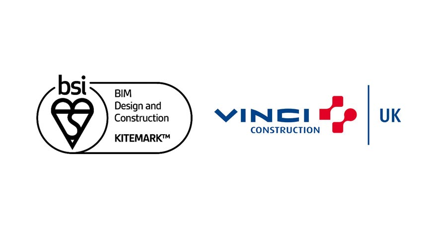 VINCI Construction UK Awarded ISO 19650 Kitemark Accreditation