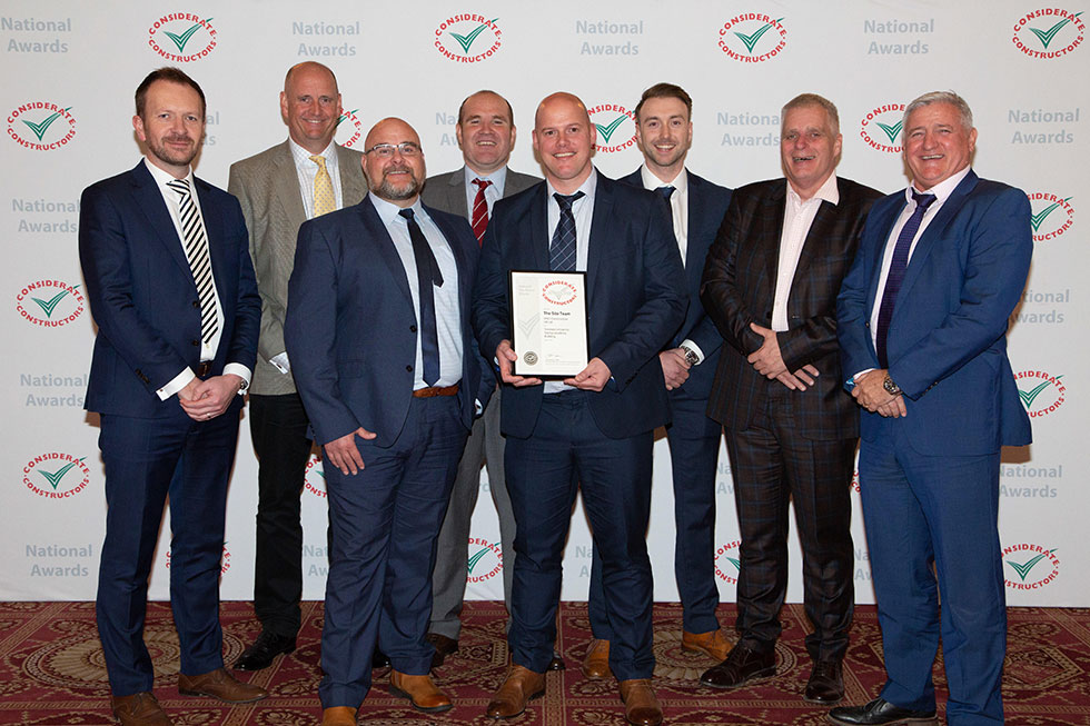 VINCI Construction UK Wins Silver Award for Swansea University