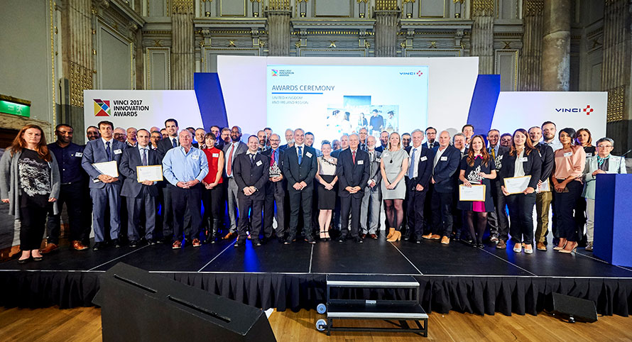 2017 VINCI INNOVATION REGIONAL AWARD WINNERS