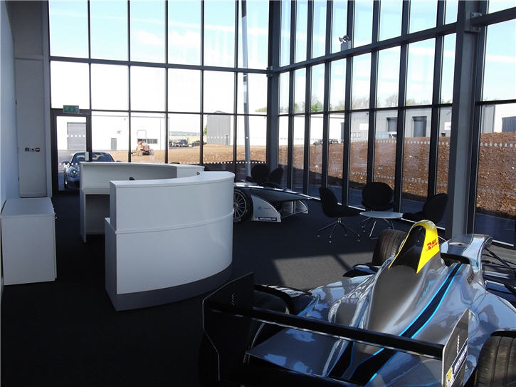 Work completed at new Formula E headquarters
