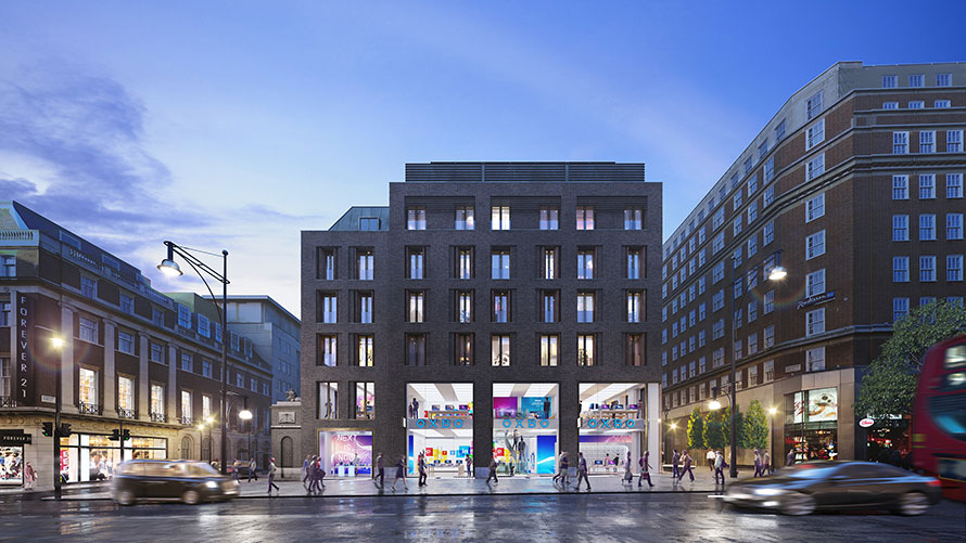VINCI Construction UK to deliver Oxford Street New Build
