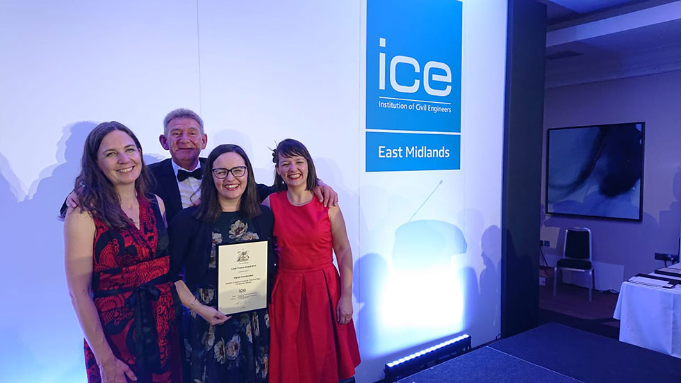 ICE Highly Commended Award for VINCI Construction UK