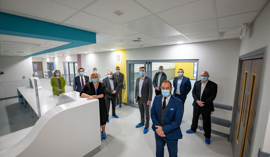 'Express Treatment Unit' at Royal Blackburn Teaching Hospital successfully hands over