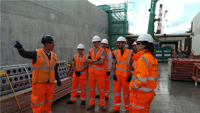 Civil engineers provide career prospects for young unemployed Londoners