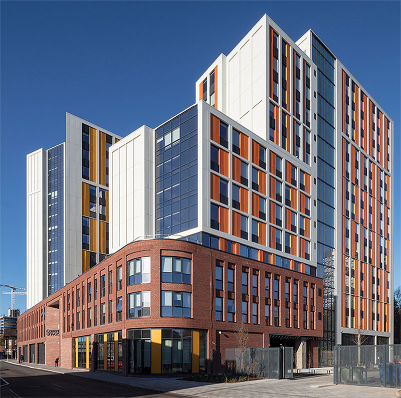 VINCI Construction UK's Building team have successfully delivered the Bishop Gate student accommodation scheme.