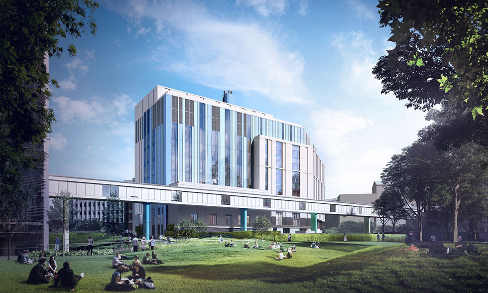 VINCI Construction UK appointed to work on a new specialist hospital in Birmingham