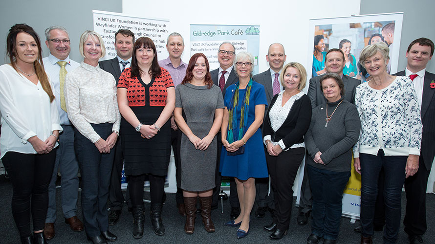 Eastbourne organisations to benefit from VINCI UK Foundation support